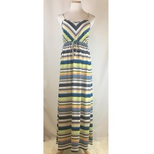 Mossimo Supply Co Summer Stripe Maxi Dress